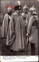 Kaiser Wilhelm II., Totenkopfhusar, Hussard de la Mort