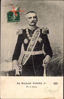 König Peter I. Karadjordjevic von Jugoslawien, Serbien, Uniform
