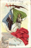 Vittorio Emanuele III., König Viktor Emanuel III. von Italien, Émile Loubet