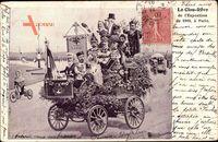 Loubet, Le Clour Rêve de lExposition 1900 à Paris, Nikolaus II, Vive la Paix