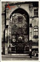 Olomouc Olmütz Stadt, Kunstuhr, Orloj, Ptolomeusbild