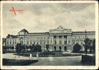 Lwów Lemberg Ukraine, Ansicht der Universitäts, Vorplatz
