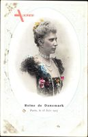 Passepartout Louise von Schweden Norwegen,Reine Danemark,Paris 15 Juin 1907