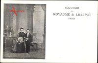 Paris, Souvenir du Royaume de Lilliput, Liliputaner, Hochzeitspaar