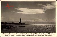 Laboe Probstei Ostsee, Blick auf das Marine Denkmal