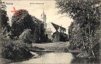 Itzehoe in Schleswig Holstein, Blick auf Schloss Breitenburg