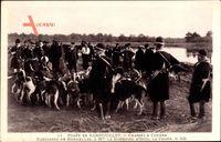 Foret de Rambouillet Yvelines, Chasses a Courre, Equipages de Bonnelles