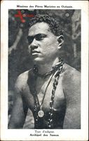 Missions des Pères Maristes en Océanie, Indigène, Archipel des Samoa