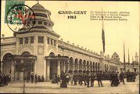 Gent Ostflandern, Expo, Weltausstellung 1913, Französische Sektion