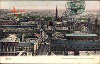 Berlin Mitte, Teilansicht, Blick vom Rathausturm nach Alexanderplatz