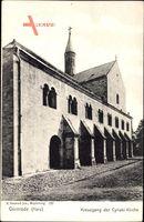 Gernrode im Harz, Kreuzgang der Cyriaki Kirche