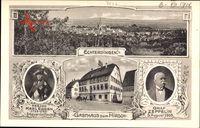 Leinfelden Echterdingen, Graf Zeppelin, Gasthaus zum Hirsch,Herzog Karl Eugen