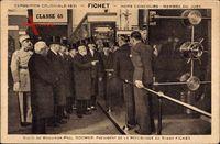 Paris, Expo Coloniale 1931, Fichet, Paul Doumer, Tresor