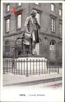 Paris, Claude Bernard, Physiologe, Monument, 1813 à 1878