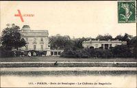 Paris, Bois de Boulogne, Le Château de Bagatelle, Schloss