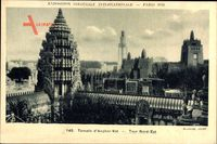 Paris, Expo, Weltausstellung 1931, Temple dAngkor Vat, Tour Nord Est
