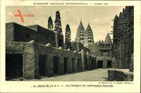 Paris, Expo, Weltausstellung 1931, Palais de la AOF, Portiques indigènes