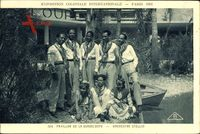Paris, Exposition Coloniale Internationale 1931, Orchestre Stellio,Guadeloupe