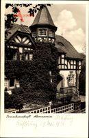 Studentika Marburg an der Lahn, Blick auf Haus der Burschenschaft Alemannia