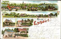 Dresden Nordost Eschdorf, Ober und Niederdorf, Teichmanns Restaurant