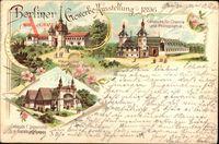 Berlin, Berliner Gewerbeausstellung 1896, Gebäude für Chemie