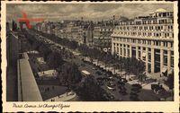 Paris, Avenue des Champs Elysées, Arc de Triomphe