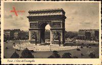 Paris, L'Arc de Triomphe, Triumphbogen, Kreisverkehr