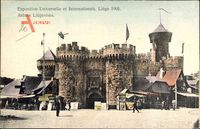 Liège Lüttich Wallonien, Expo, Weltausstellung 1905, Arênes Liégeoises