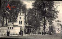 Liège Lüttich Wallonien, Expo, Weltausstellung 1905, Perspective des Palais