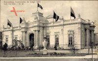 Liège Lüttich Wallonien, Expo, Weltausstellung 1905, Salle des têtes