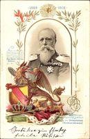 Wappen Großherzog Friedrich von Baden, 50jh Regierungsjubiläum 1902