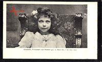 Passepartout Prinzessin Elisabeth von Hessen Darmstadt, 1895 bis 1903