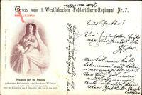 Regiment Prinzessin Carl von Preußen, 1. Westfälische Feldartillerie Nr 7