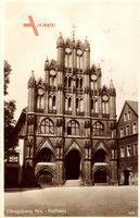 Chojna Königsberg Neumark Ostbrandenburg, Blick auf das Rathaus