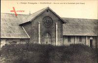 Brazzaville Franz. Kongo, Bras de croix de la Cathedrale, cote Ouest