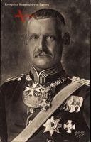 Kronprinz Rupprecht von Bayern, Portrait, Schärpe