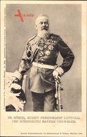 Prinzregent Luitpold von Bayern, Verweser, Standportrait