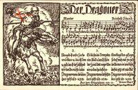 Lied Der Dragoner, Reinhold Schaad, Kaiserreich
