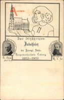 Studentika Coburg in Oberfranken, Baugewerkschule, 50. Jubiläum, Rothlart