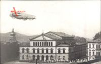 Coburg in Oberfranken, Zeppelin am 22 05 1913