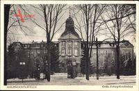 Berlin Steglitz Lichterfelde, Blick auf das Gräfin Rittberg Krankenhaus