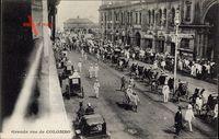 Colombo Brasilien, Défilé des troupes Anglaises, Britische Truppen