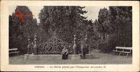 Odessa Ukraine, Le Chêne planté par l'Empereur Alexandre II.