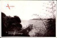 Brazzaville Franz. Kongo, Echappée sur le Congo, Flussblick