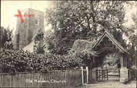 Old Malden Greater London, View of the Church, Entrance