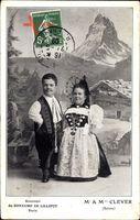 Souvenir du Royaume de Lilliput, Paris, Mr et Mme Clever, Suisse, Liliputaner