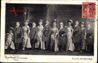 Paris, Souvenir du Royaume de Lilliput, Famille Scheuer, Liliputaner