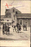 Liège Lüttich Wallonien Belgien, Exposition 1905, rue sous la Tour Ferme