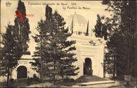 Gent Ostflandern Belgien, Exposition Universelle 1913, Pavillon du Maroc