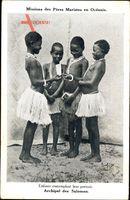 Missions des Pères Maristes en Océanie, Archipel des Salomon
